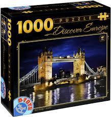 Pussel - Tower Bridge London -