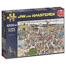 Jan van Haasteren - Departure Hall -