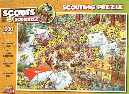 Pussel - The Scouting Camp -