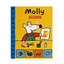Roliga Produkter - Målabok Molly -