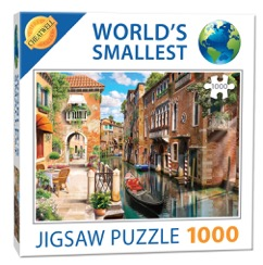 World Smallest Puzzle - Venice Canal -