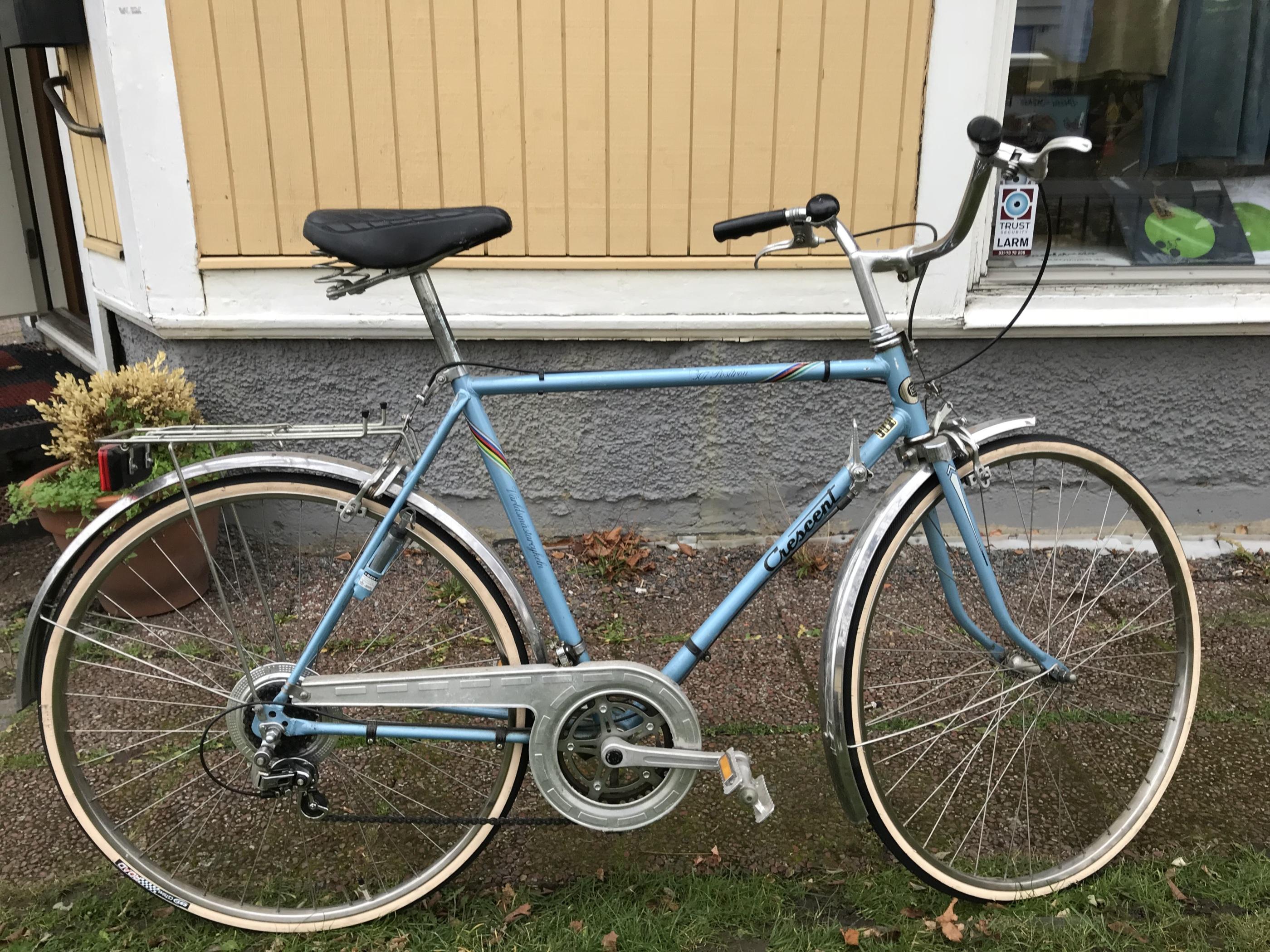 begagnade cyklar racer