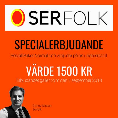 Specialerbjudande från Serfolk