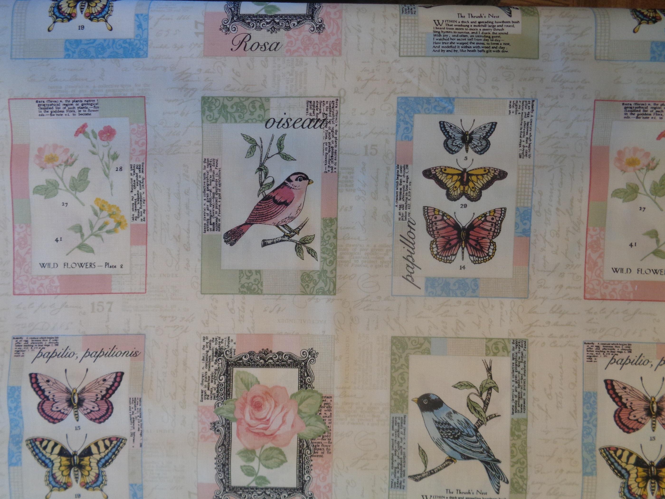 Vintage Journal Postcard Labels