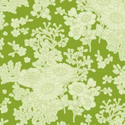 Bomullstyg Tilda Sunkiss Imogen grön