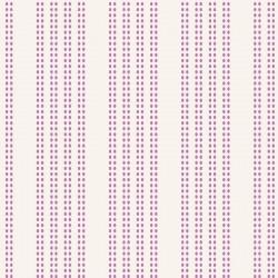 Bomullstyg lila rand (Tilda)