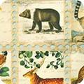 Bomullstyg djur (Library of Rarities)