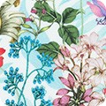 Bomullstyg blommigt (Topia)