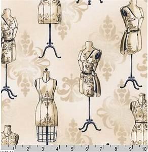 FYND! Bomullstyg skyltdockor (Vintage Couturier)
