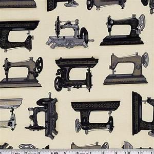 FYND! Bomullstyg symaskiner (Vintage Couturier)