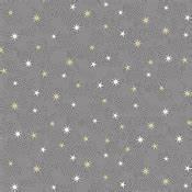 Bomullstyg grått stjärnmönster (X-mas 21)