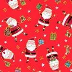 Bomullsstyg Jultomtar (Santa Express)