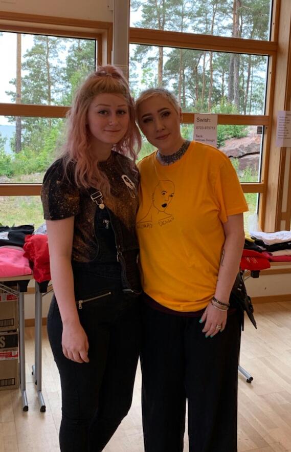 Alopecia barnläger med kollegan Wilmas Design och Carl M Lundh med makeuprehab