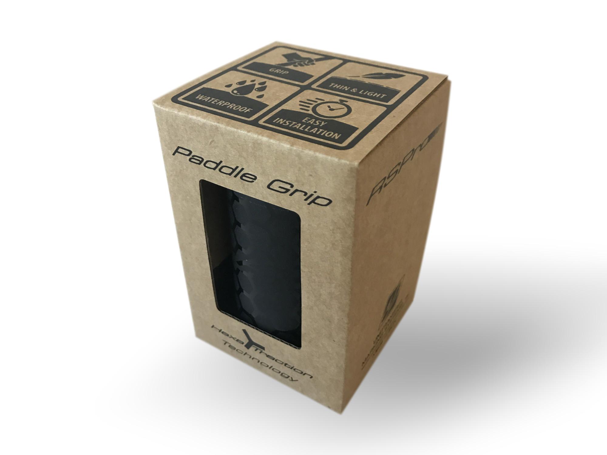 Paddle Grip RSPro Hexa Black packaging xweb