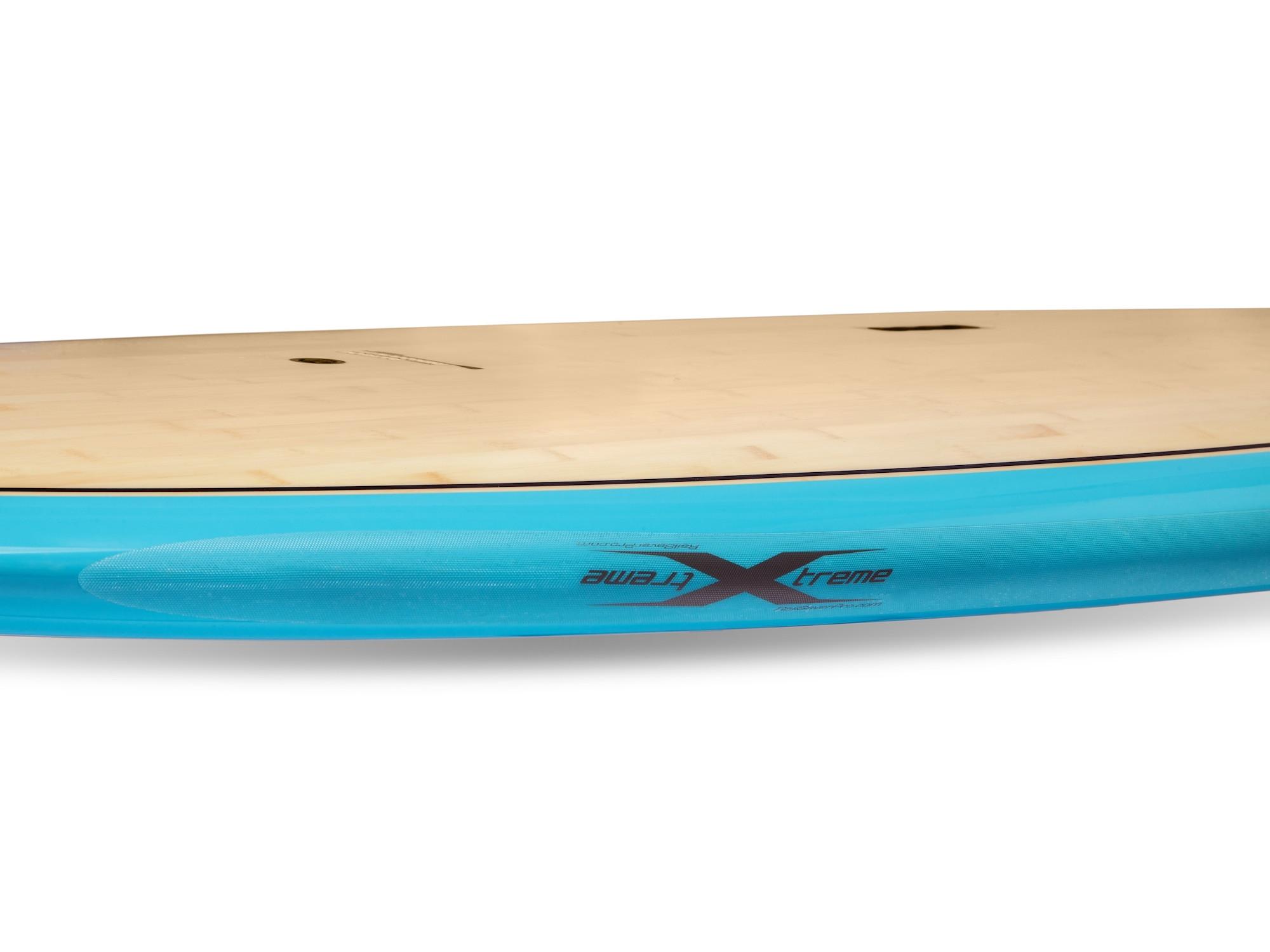 Xtreme transparent rail saver for short boards