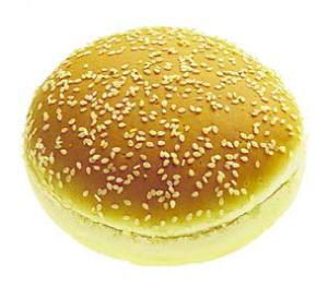 Hamburgerbröd 56g