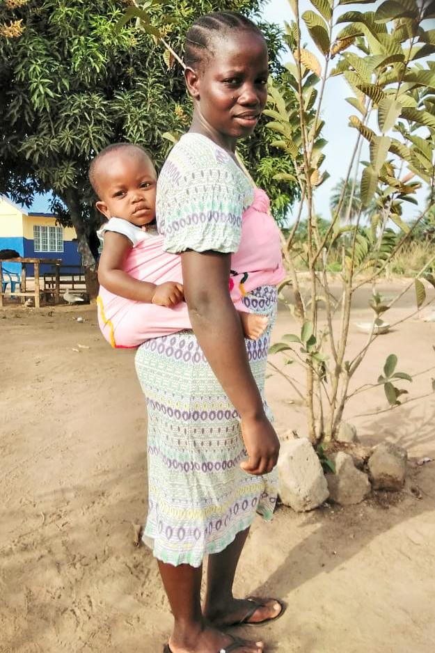 bära sitt barn, sjal, bärsele, bärsjal, fördelar, afrika, sierra leone
