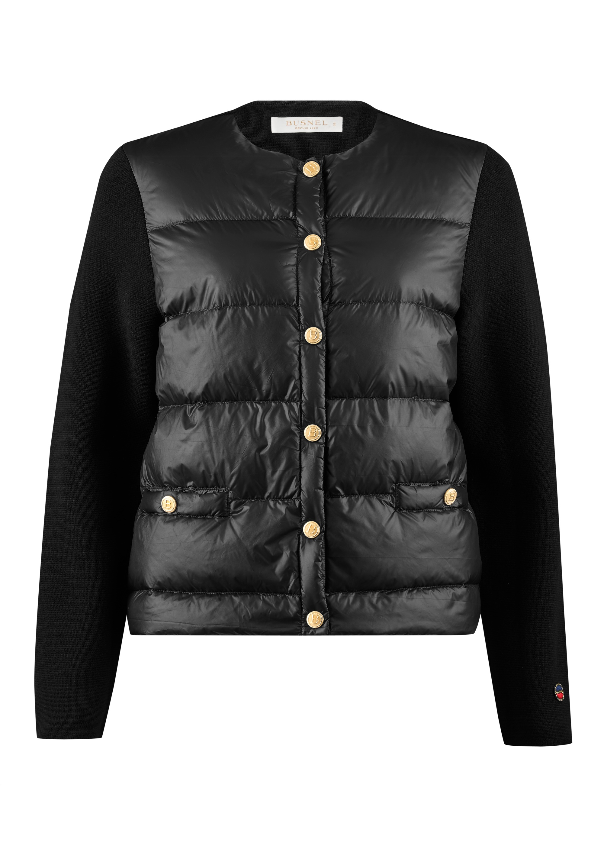 Inella Down Jacket Black-1
