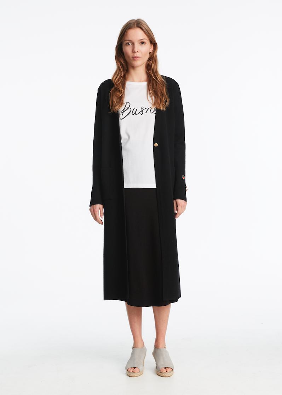 Ambon Coat Black