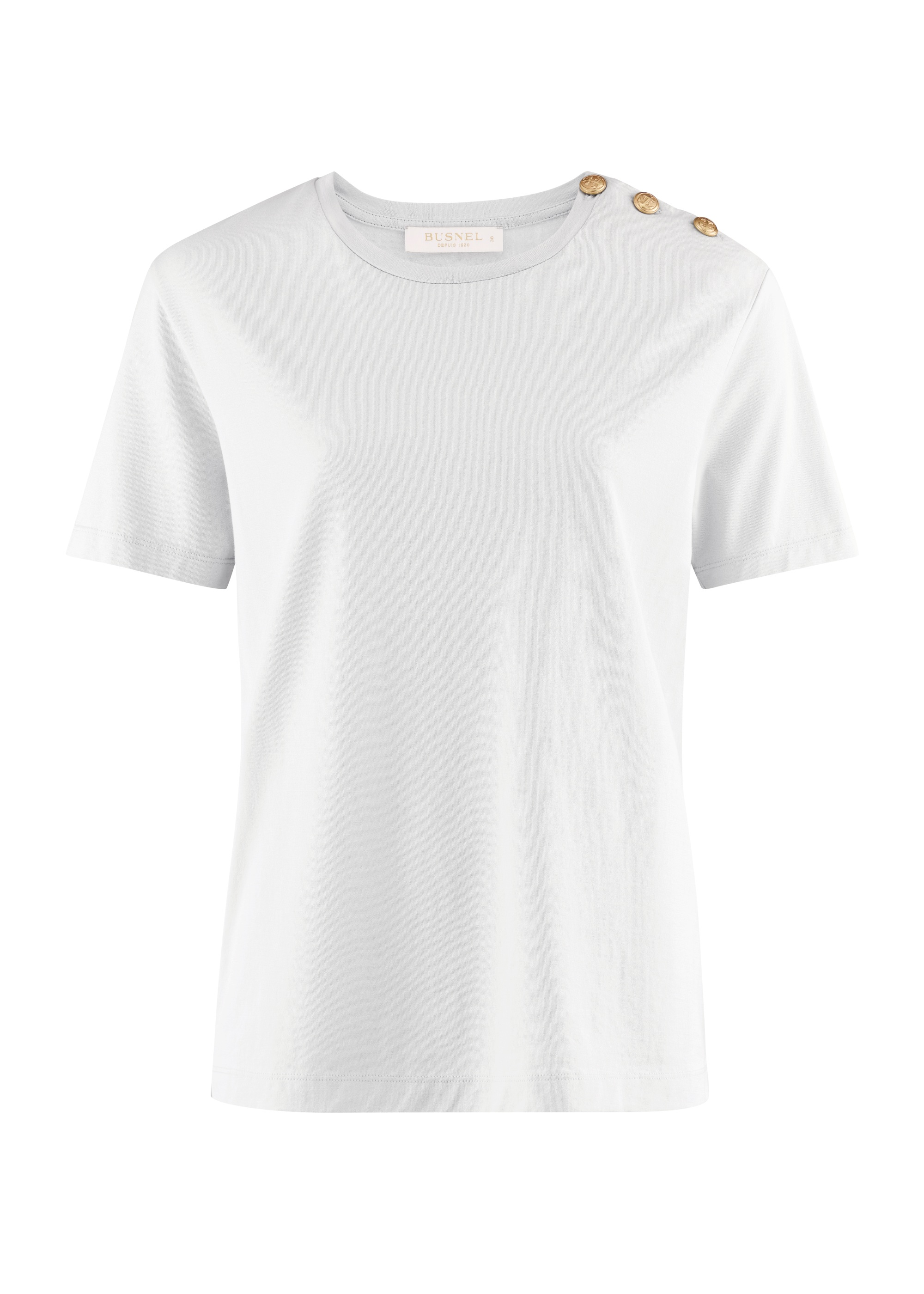 Toulon T-shirt Clear White-1