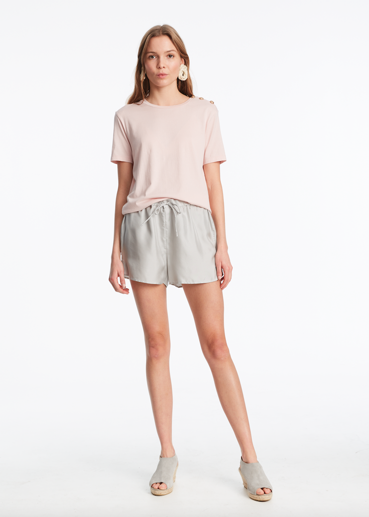 Toulon T-shirt Blush Pink