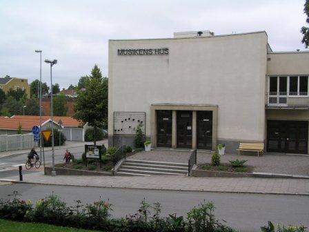 Musikens hus Hantverkargatan 10 Katrineholm