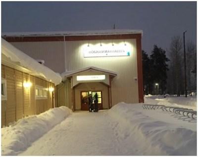Höghammarhallen i Bollnäs