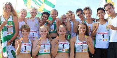 Lag-SM-segern firas på Sparvallen i Tanumshede!