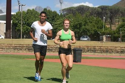 Dennis och Stine i Sydafrika år 2011/2012