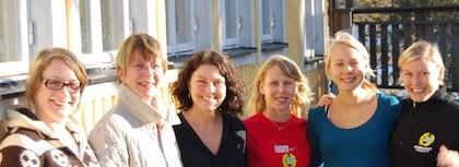 Petra, Ulrika, Karin, Birgitta, Lina & Linn