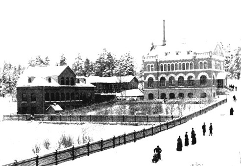 Nybergs fabrik i Sundbyberg.