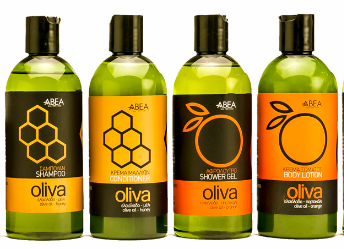 SPA-serie från ABEA  300ml    byggd på olivolja
