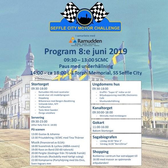 Seffle City Motor Challenge program 2019