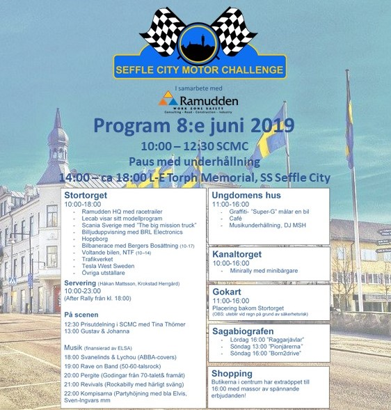 Program Seffle City Motor Challenge 2019