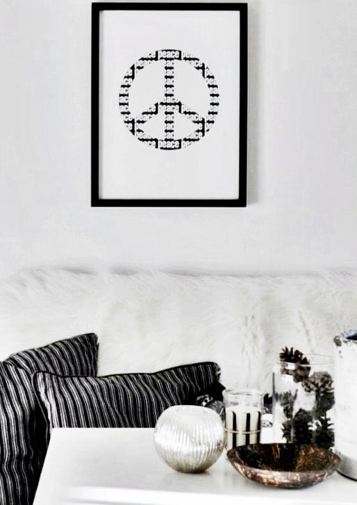 grafiskt print peace 2 millandante.se