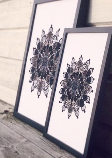 Marrakech grafiskt print design inredning millandante.se