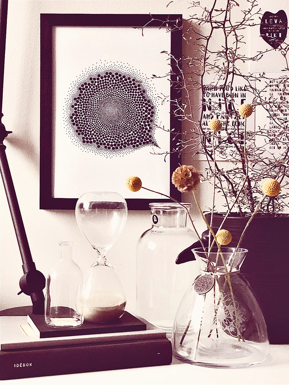 No oro grafiskt print inredning design millandante.se