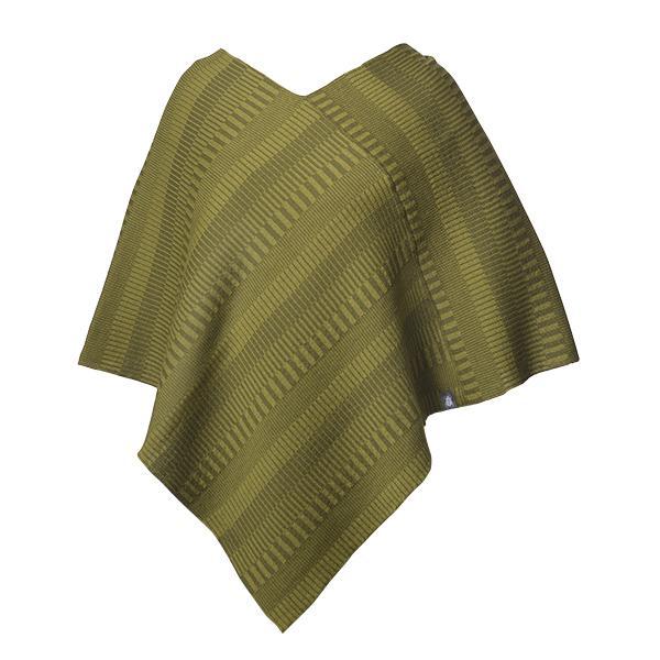 Poncho grön
