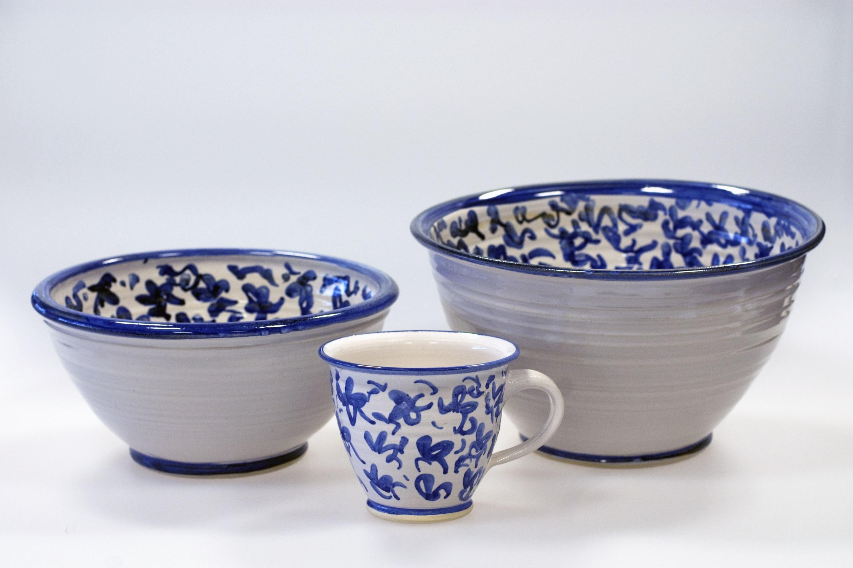 Virrvarr skål och kopp