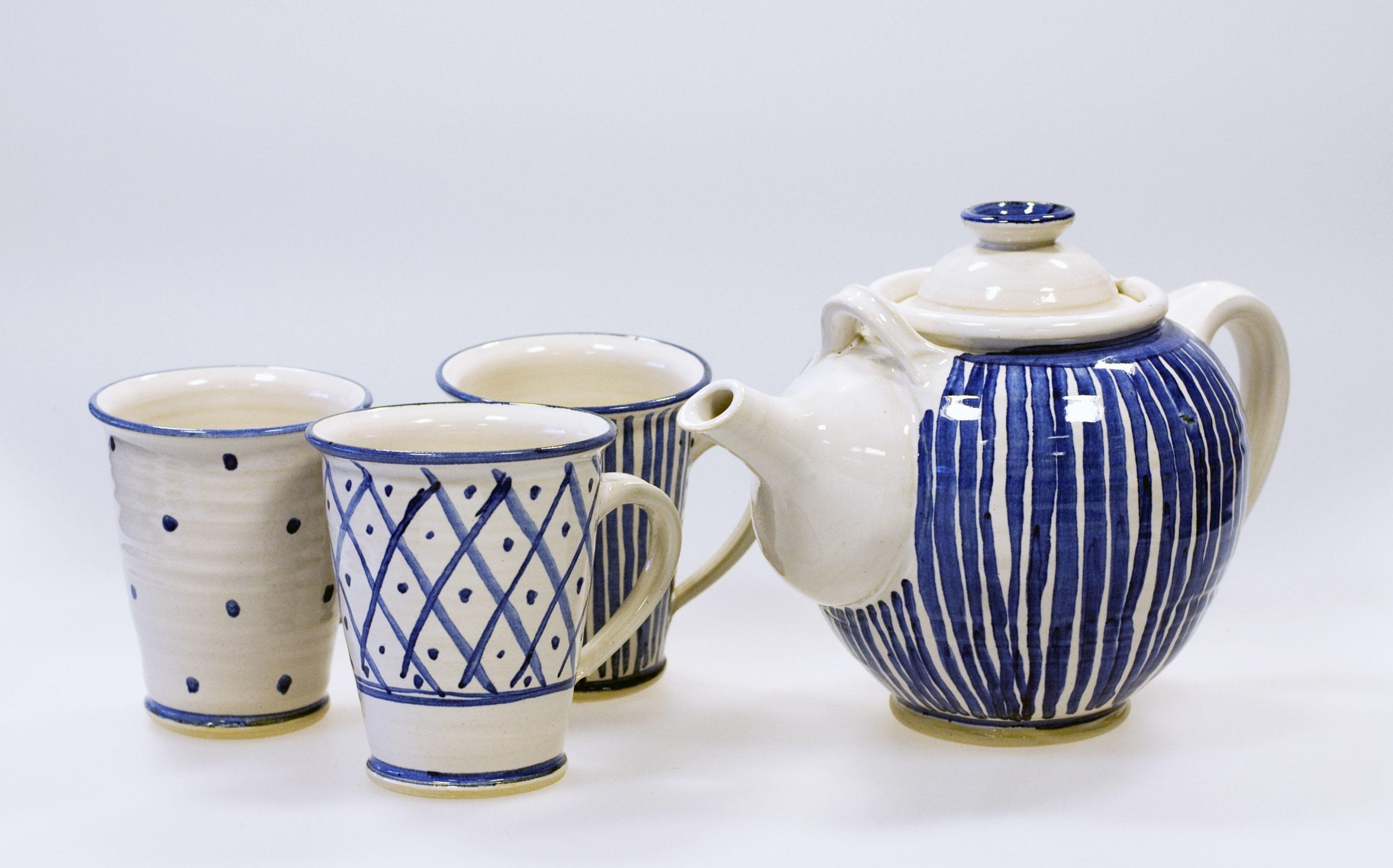 Blå keramik 2