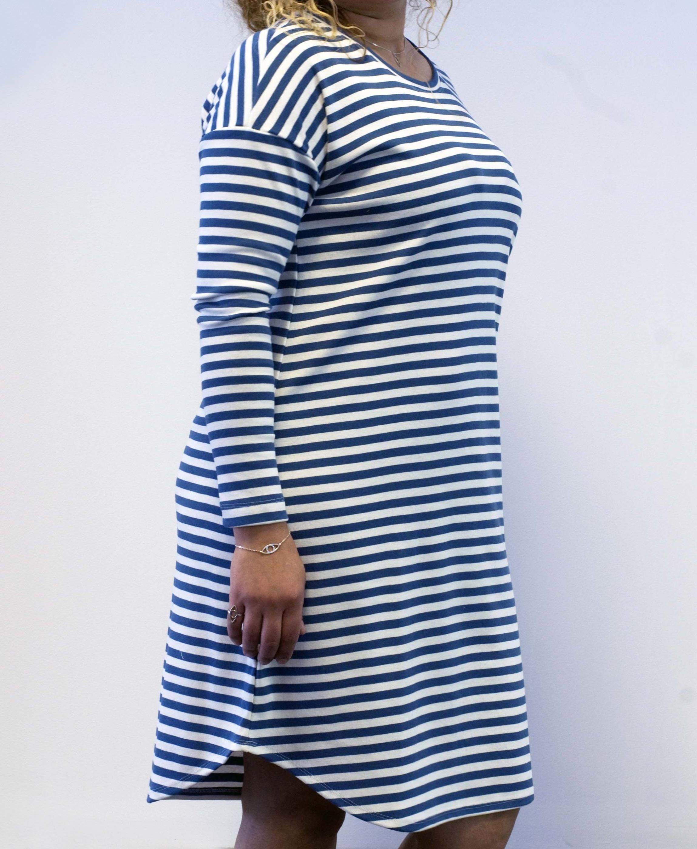 Randig klänning 2