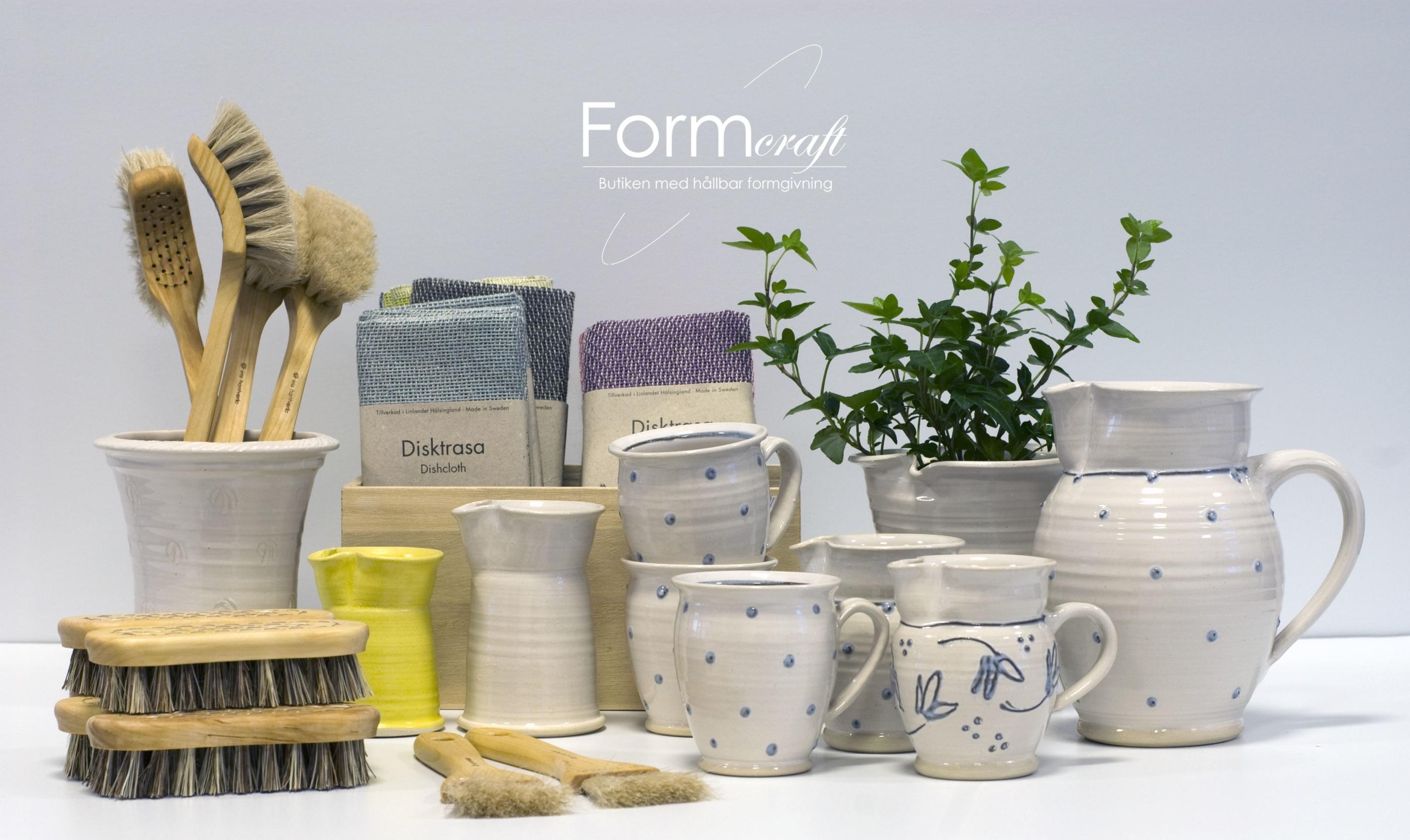 Keramik och produkter från Formcraft butiken