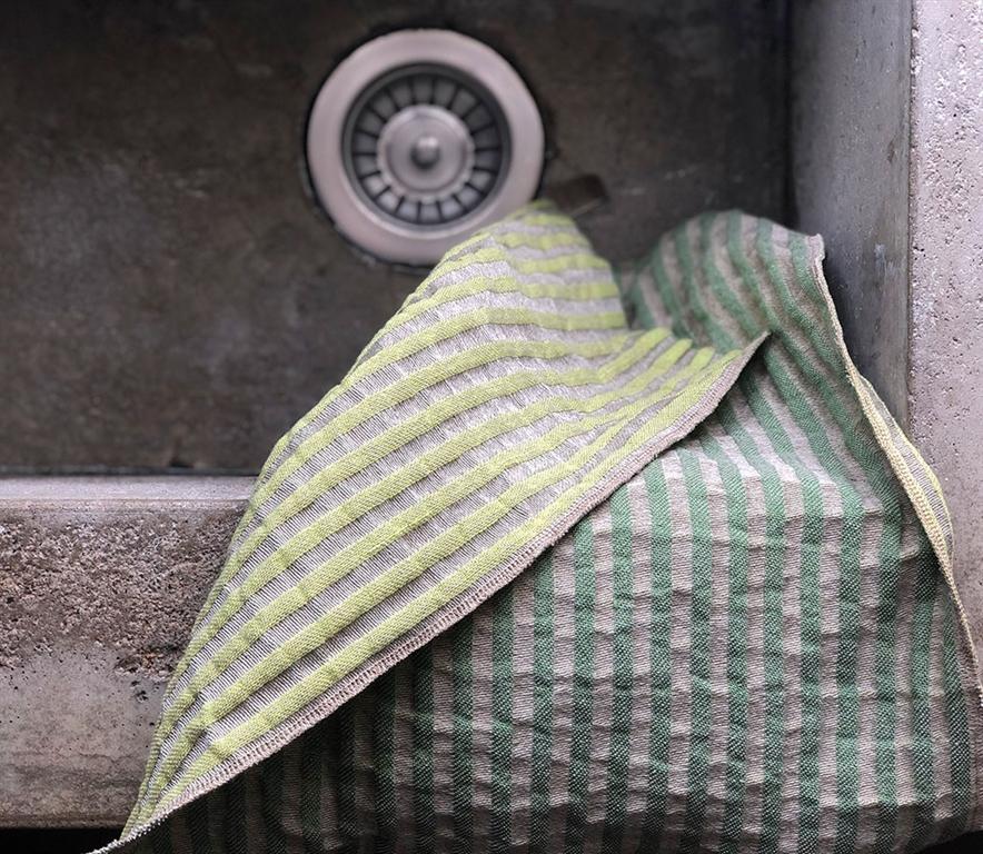 Storm handduk grön