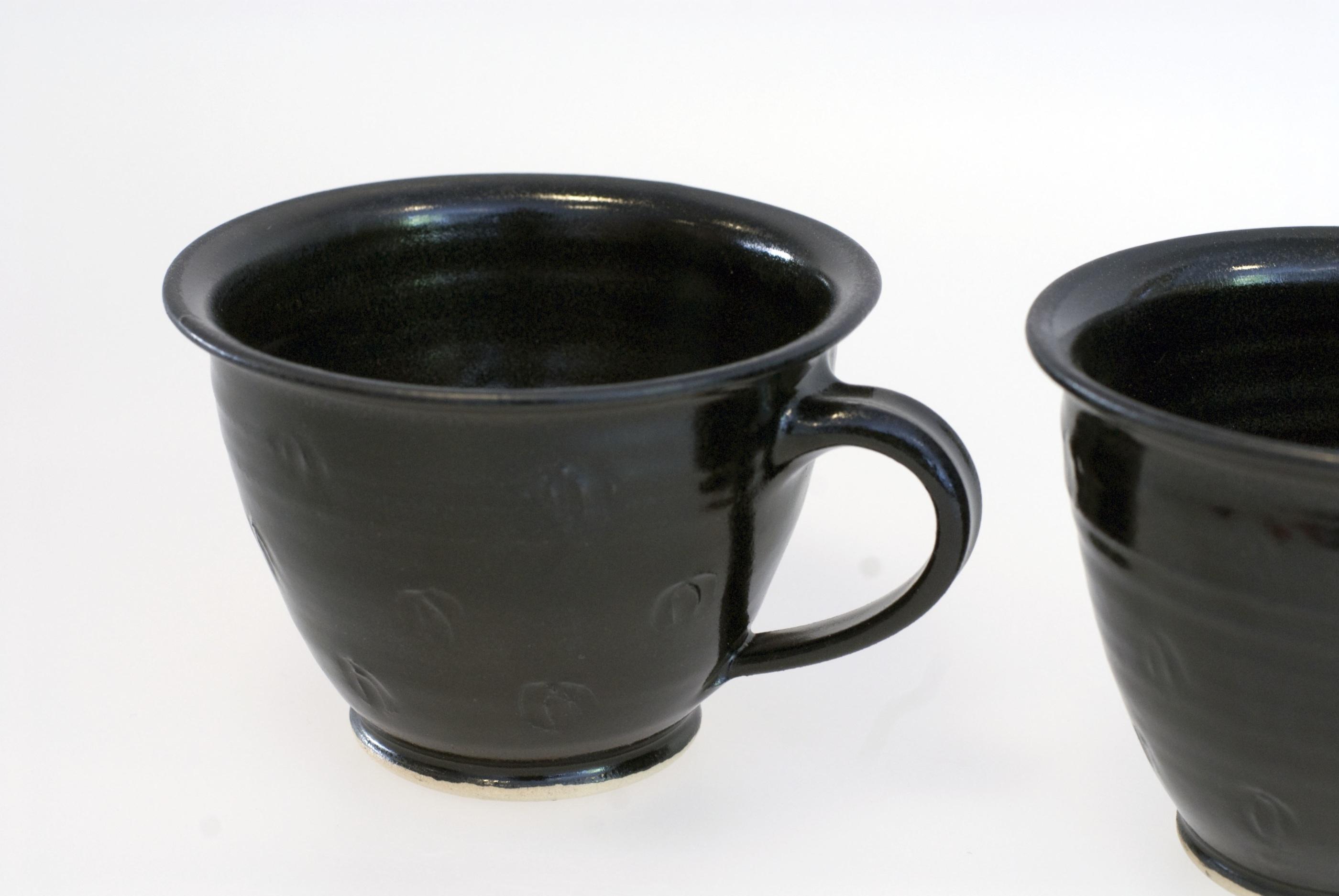 Q kaffekopp svart