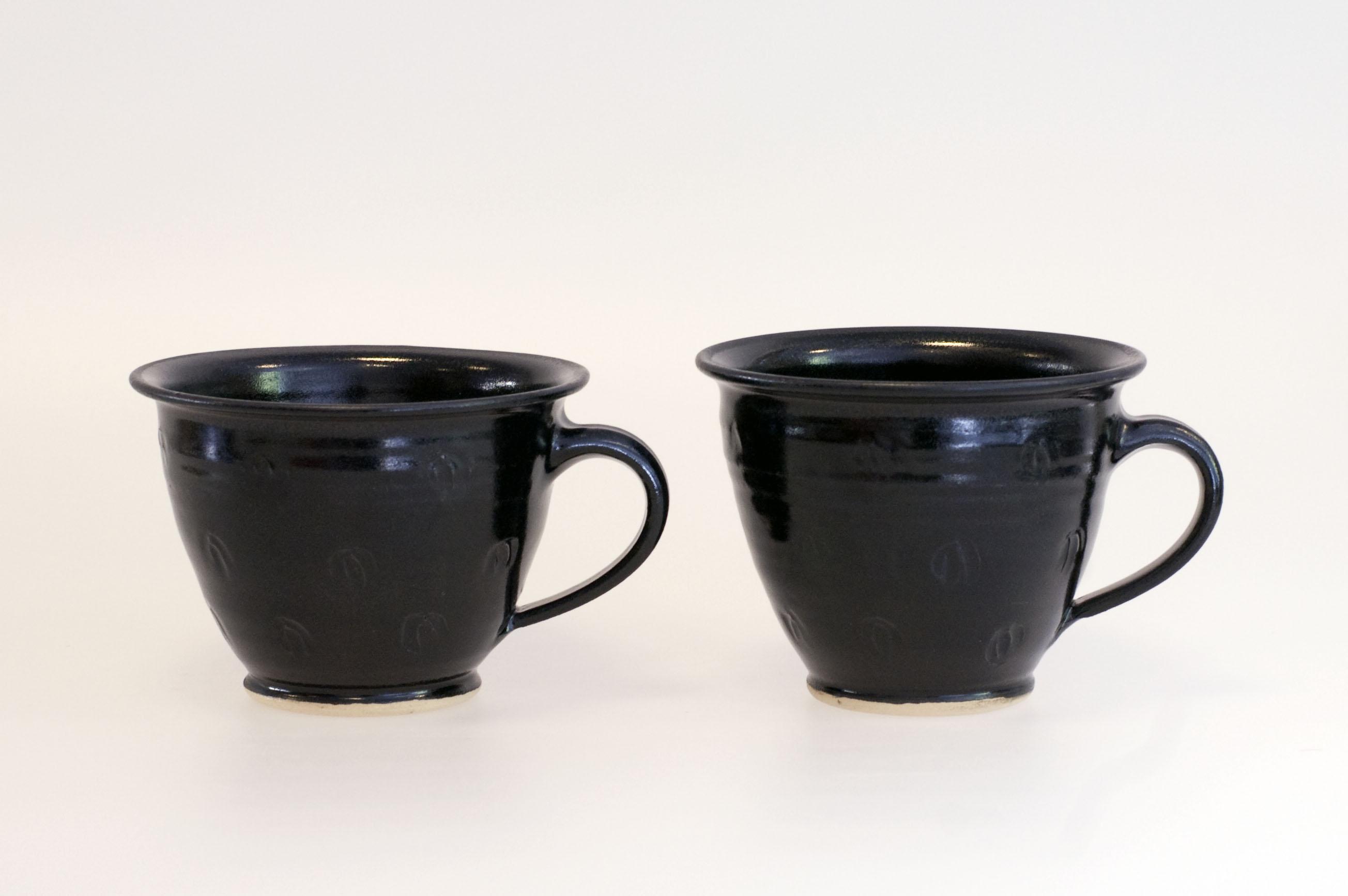 Q kopp svart