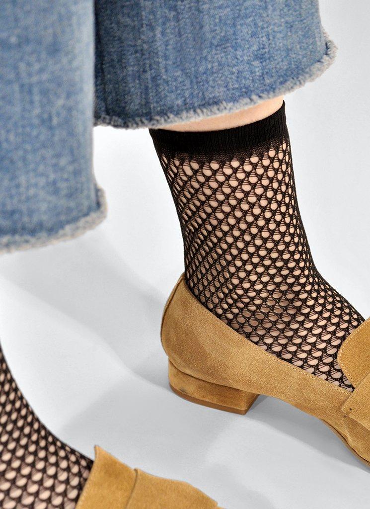 Vera net ankle sock miljö