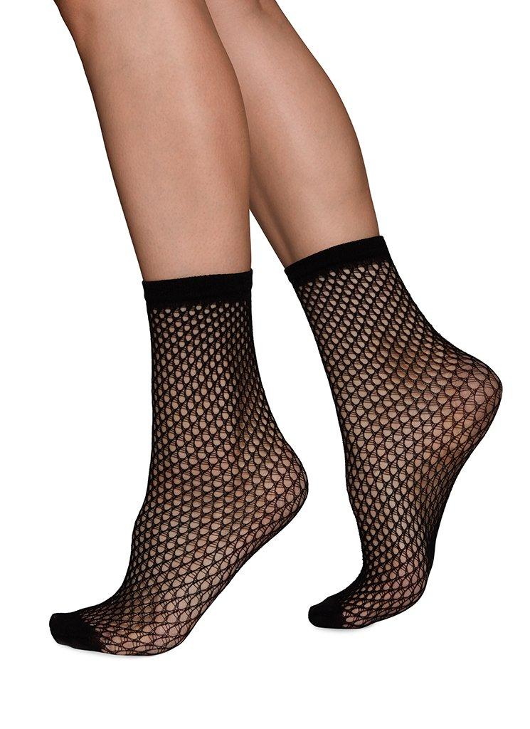Vera net ankle sock