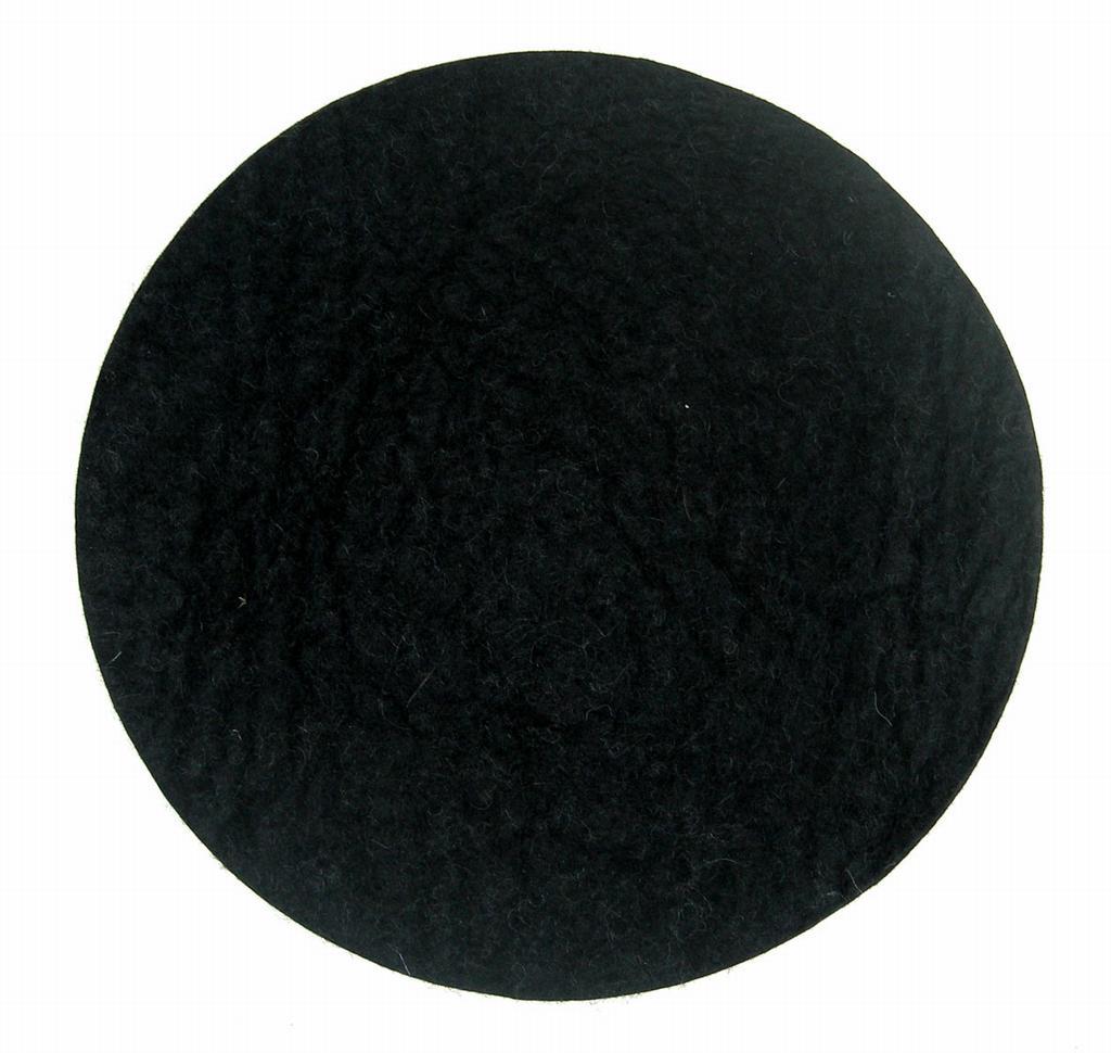 sittdyna-rund-svart