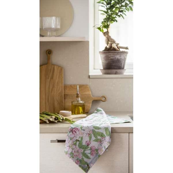 äppelblom handduk i kök