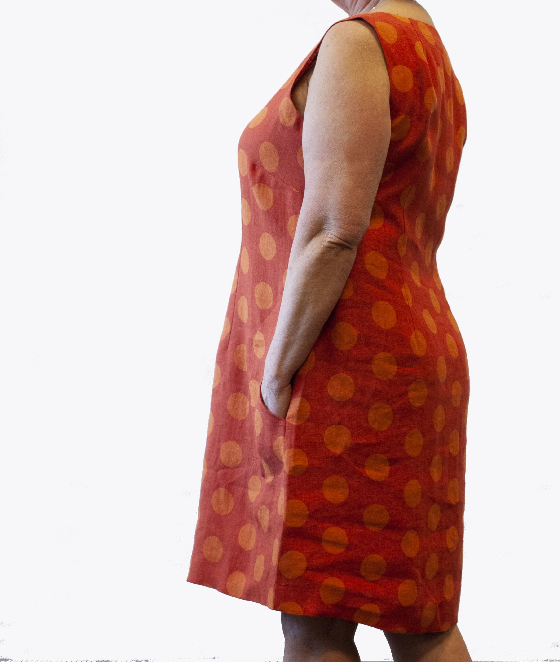 Prick klänning linne 2